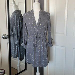 NEW LISTING! Gap polka dot shirt dress